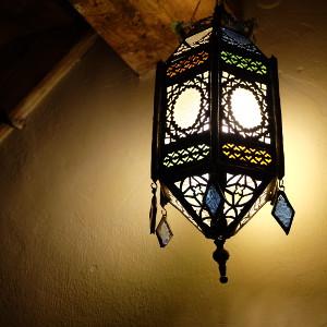 Lampe marocaine vintage par KaravaneSerail