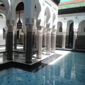 Décoration marocaine du palais Bahia à Marrakech