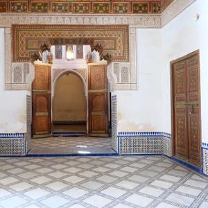 Décor marocain du palais Bahia