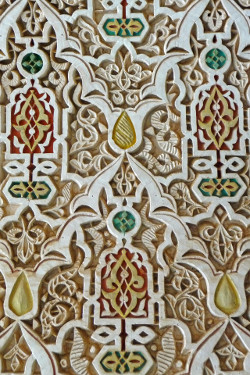 Décor marocain en stuc