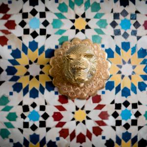 Décor marocain en mosaïque