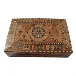 Boîte à cigare en bois Ptah