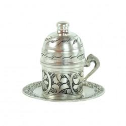 Tasse cuivre artisanal Bahar, design oriental turc