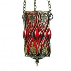 Lampe orientale rouge Dusares