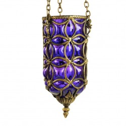Suspension orientale Enlil violette