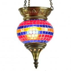 Lampe mosaïque turque Suwâ