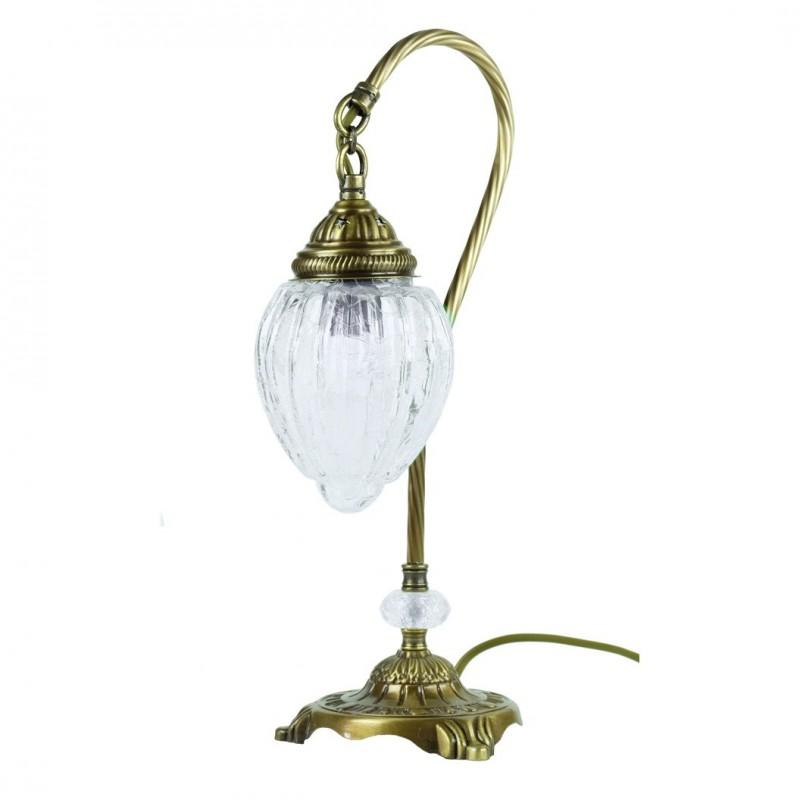 Lampe de chevet vintage orientale ishara - Lampe chevet vintage ...