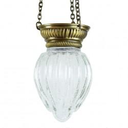 Lampe orientale en verre craquelé Wadd