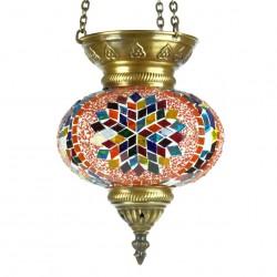 Lampe turque en mosaïque Ninmah