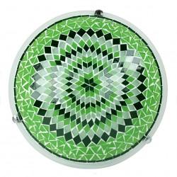 Plafonnier mosaïque vert Eshtan