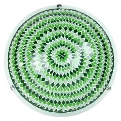 Plafonnier ethnique Ninlil vert