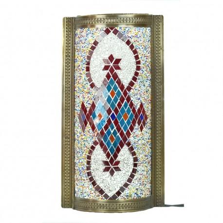 Applique orientale en mosaïque Senir, décoration ethnique