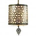 Lampe marocaine en laiton Ehreli