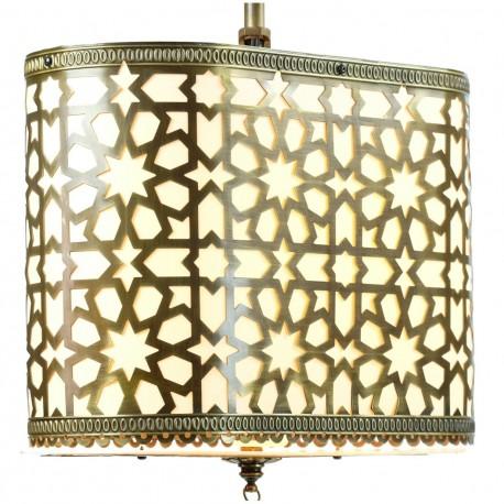 Luminaire marocain en laiton Alanya style oriental