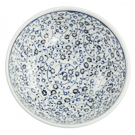 Vaisselle turque, bol en porcelaine Iznik Hava 16cm