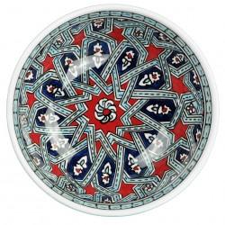Bol oriental en céramique Melis 16cm déco géométrique