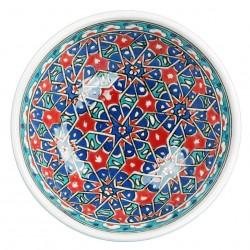 Bol Seldjouk rouge 16cm, vaisselle orientale