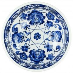 Coupelle bleue Rosa 16cm, vaisselle ethnique