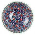 Bol Seldjouk rouge 20cm pour les amateurs de vaisselle marocaine