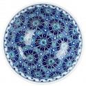 Bol Seldjouk bleu 20cm