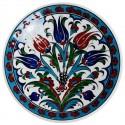 Assiette en faïence ottomane Ceylan 18cm