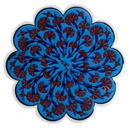 Dessous-de-plat bleu Esori