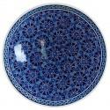Plat oriental bleu Seldjouk 30cm