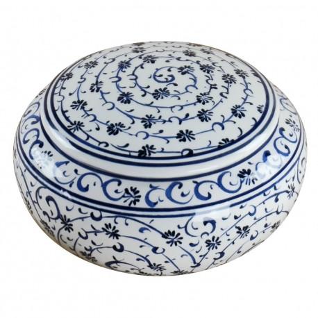 Cadeau insolite, boîte en céramique ottomane Hava 12cm