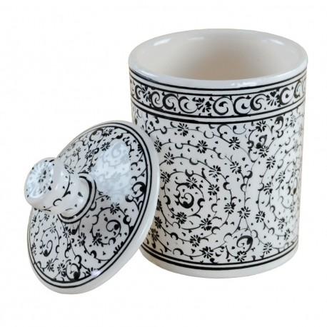 Pot à épices Hava 10cm en céramique artisanale