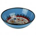 Bol bleu Timur 25cm, vaisselle ethnique