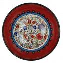 Bol rouge oriental Timur 25cm