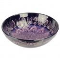 Bol oriental Dira violet 25cm