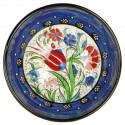 Bol bleu Kadri 15cm pour les amateurs de vaisselle marocaine
