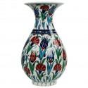 Vase Iznik décoratif Ceylan 30cm