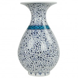 Vase oriental en céramique Hava 30cm