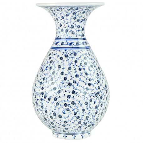 Vase déco Hava 25cm, décor spirales Iznik Haliç