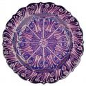 Assiette turque Aylin violette 25cm