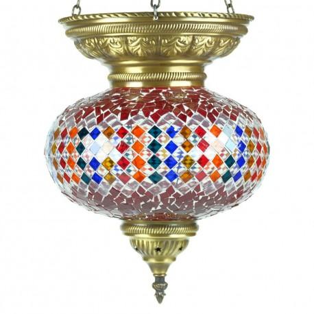 Luminaire turc décoratif Nammu, déco orientale bohème