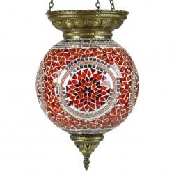 Luminaire mosaïque Ishkur style ethnique bohème
