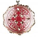 Pendentif ethnique rouge Turan