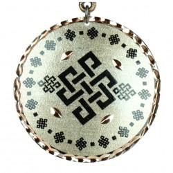 Collier original argenté Yashar