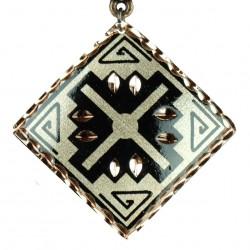 Pendentif en cuivre Arash noir