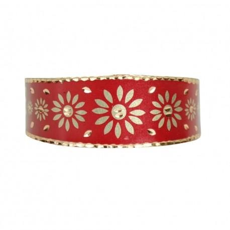 Bracelet bohème en cuivre rouge Gelareh