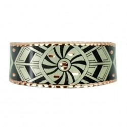Bracelet en cuivre Reyhan Noir