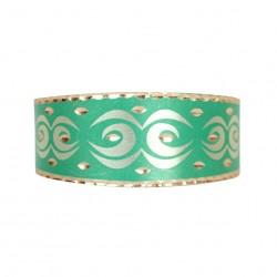Bracelet ethnique Daria vert