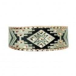 Bracelet oriental Feriel argenté