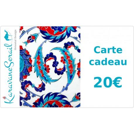 Carte Cadeau 20€ KaravaneSerail