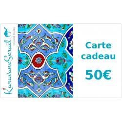 Idée Cadeau, Carte Cadeau 50€