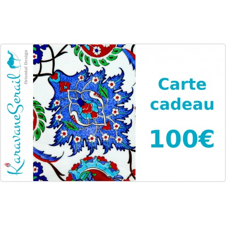 Carte Cadeau 100€ KaravaneSerail