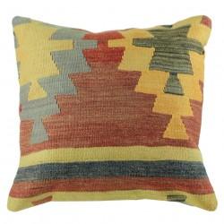 Coussin kilim vintage Kolon B038